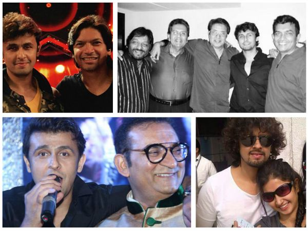 Television celebrities - Shaan, Sanjeev Kapoor, Sana Sheikh, Nisha Rawal… took to Twitter to wish Sonu Nigam on his birthday.