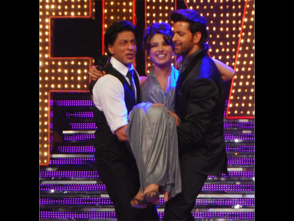 At Hrithik's Dance Show
