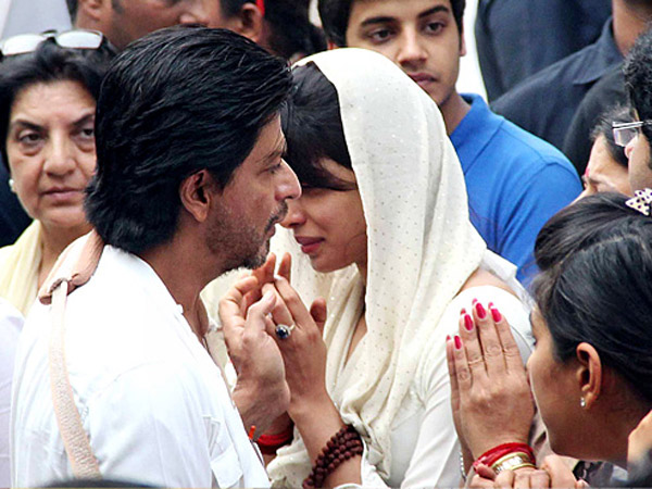 At Priyanka's Father's Demise