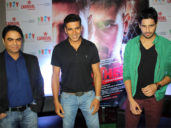 Akshay-Sidharth In Indore