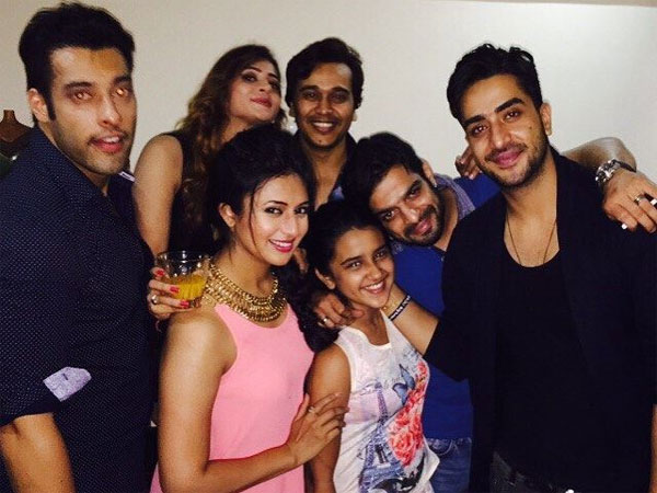 Photo of Divyanka Tripathi & her friend   -