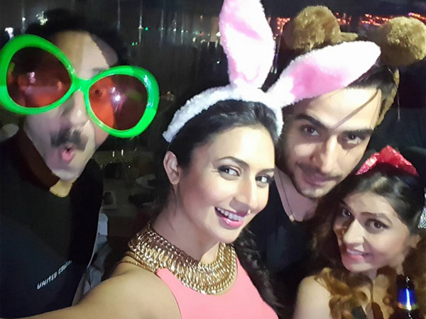Divyanka Partying At The Party