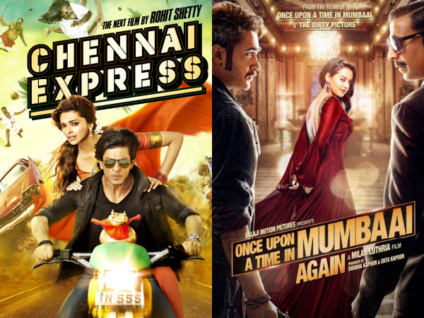 Chennai Express VS Once Upon A Time In Mumbaai Again