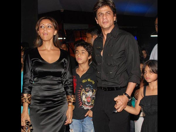 Shahrukh With His Family