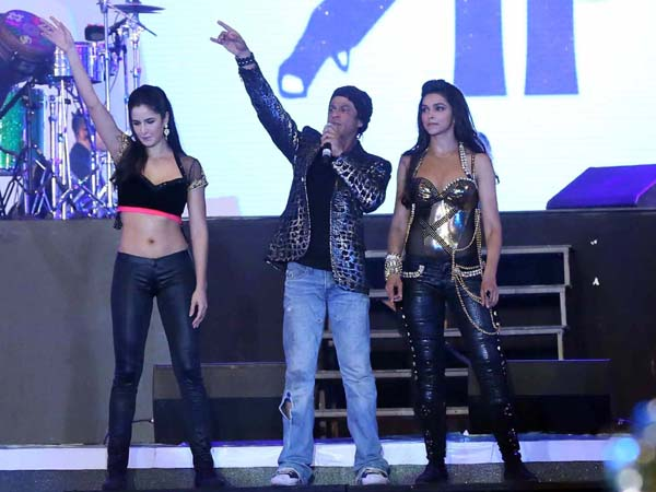 With Katrina And Deepika