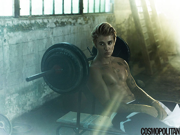 Shirtless Justin Bieber Is Making Us Sweat In Cosmopolitan's New Shoot