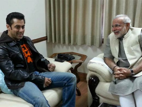 Salman With The PM