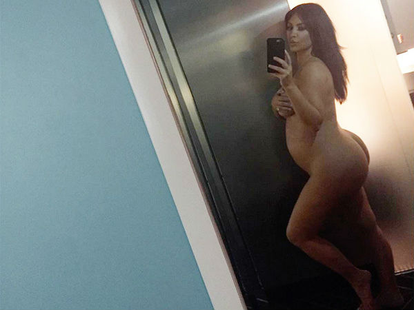 Kim Kardashian West Goes Naked To Show Her Baby Bump & Slam Haters