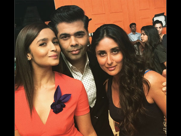 Alia With Karan And Kareena
