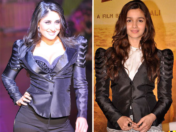 Alia-Kareena In Same Jacket