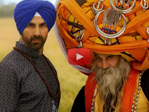 Watch Akshay's Stunts In Tung Tung Baje Song From Singh Is Bliing