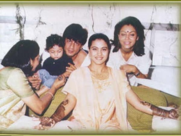 Flashback Pictures When Shahrukh Khan Gauri Attended Kajols