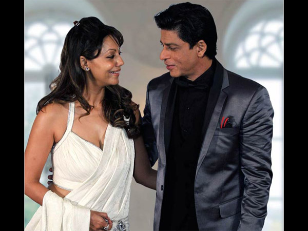 SRK And Wife Gauri