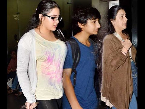 Amrita With Kids