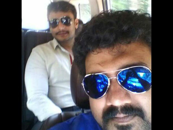 Srujan's Seflie With Box Office Sultan!