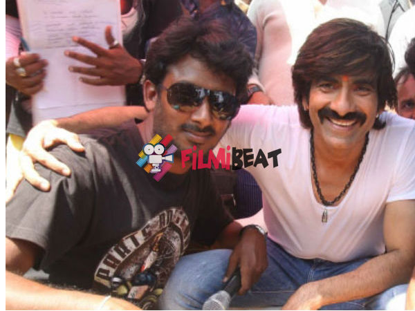 Director Cum Choreographer Harsha To Shake Legs With Ravi Teja In Tollywood!