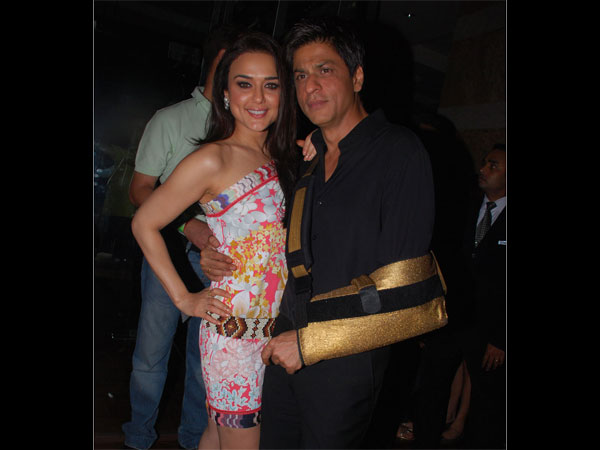 Preity And King Khan