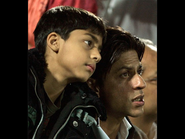 Aryan With Dad