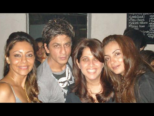 SRK With Friends