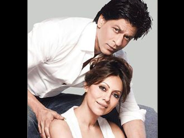 SRK With Wife