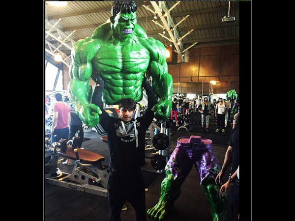 Qubool Hai Ex-Actor Karan Singh Grover And His Hulk Obsession!