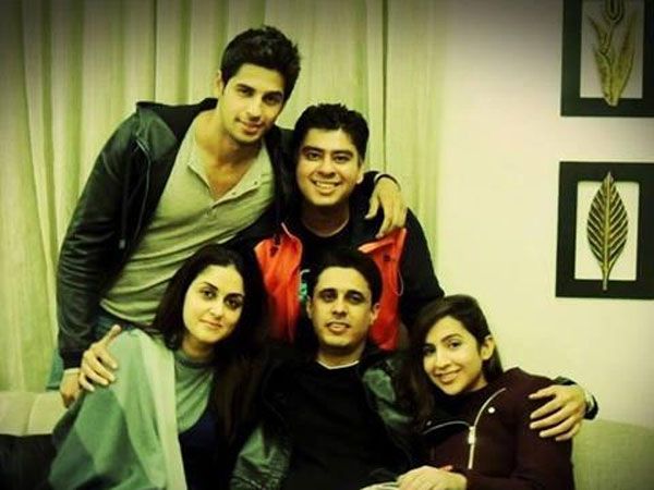 Sidharth With His Elder Brother