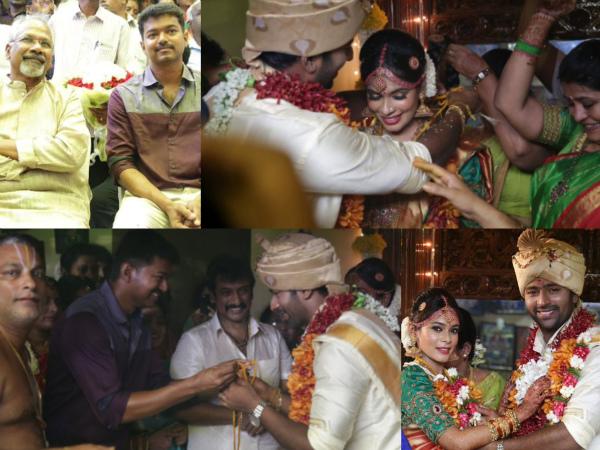 vijay in shanthanu wedding
