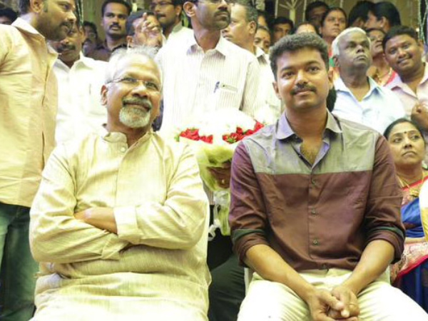 Vijay And Mani Ratnam