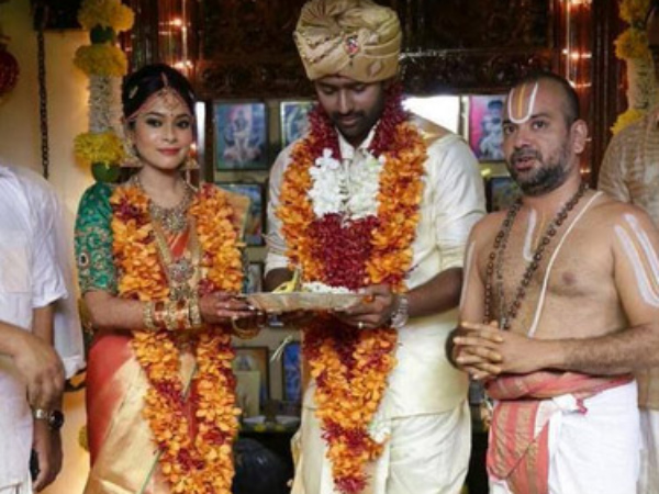 Shanthanu-Keerthy As Husband And Wife