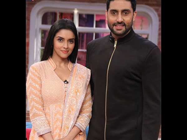 Abhishek And Asin