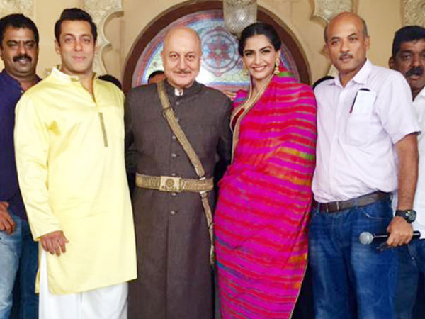 Salman Khan's Group Picture