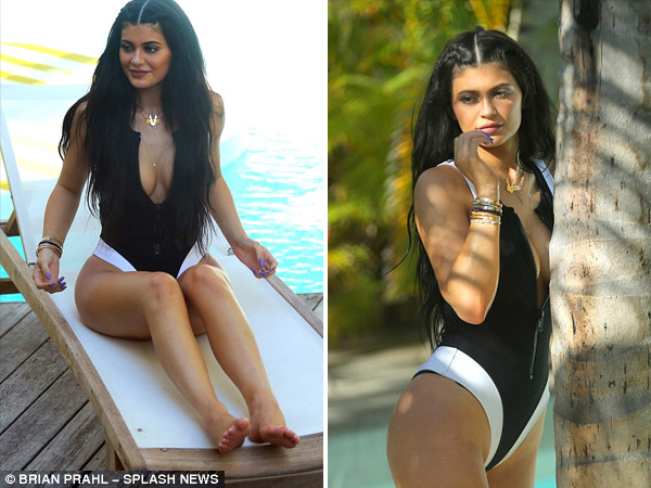 Kylie Jenner's Oh-So-Hot Poolside Photo Shoot
