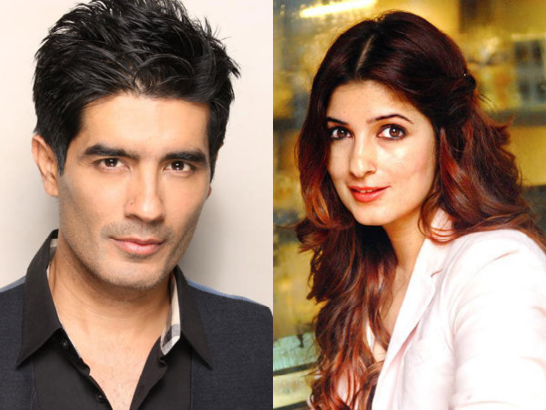 Manish Malhotra And Twinkle Khanna