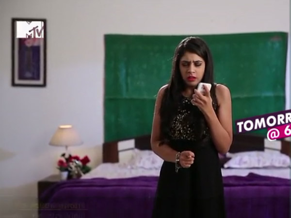 Nandini On Phone With Manik