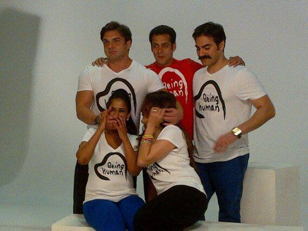 Image result for latest images of salman khan with his siters