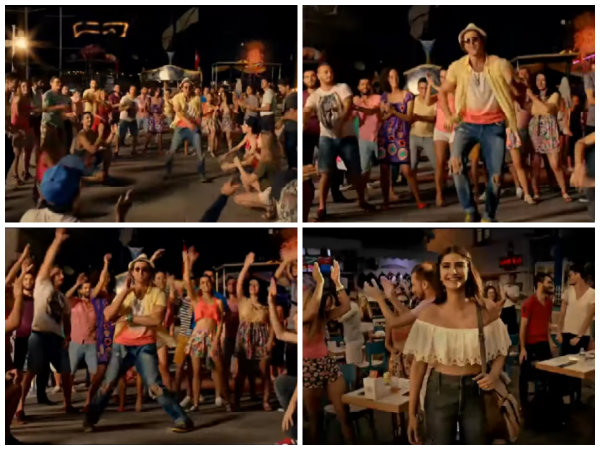 Dance Sequence Of Hrithik