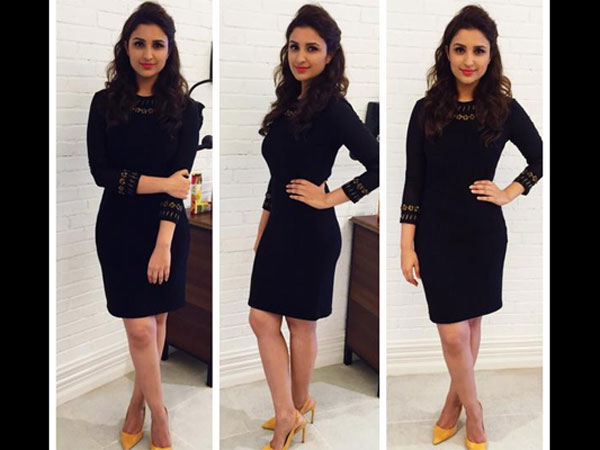 Parineeti Rocks The Black