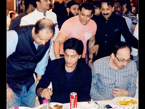 At Baba Siddiqui's Iftaar Party