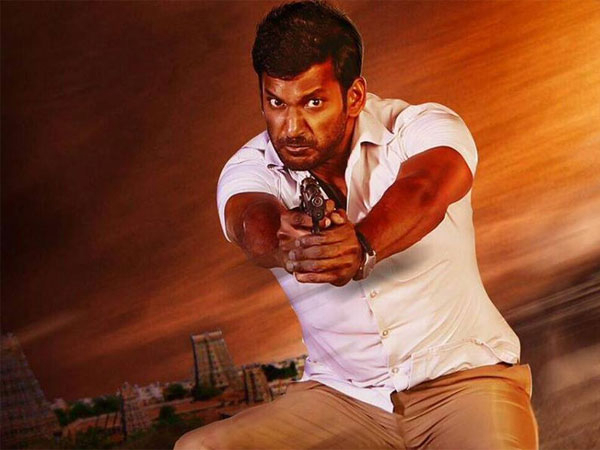 Vishal As An Upright Cop
