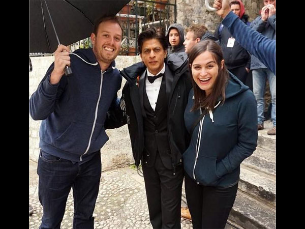 On The Sets Of Fan