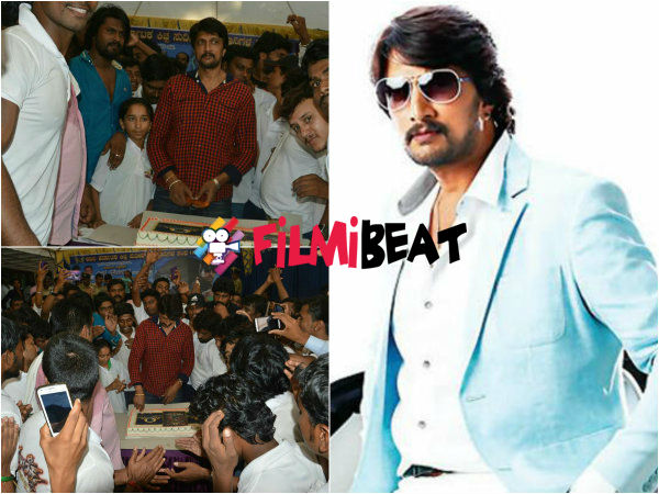 Sudeep 42nd Birthday Celebrations: Fans Give Two New Titles 'Annadhata' & 'Kalabhushana'