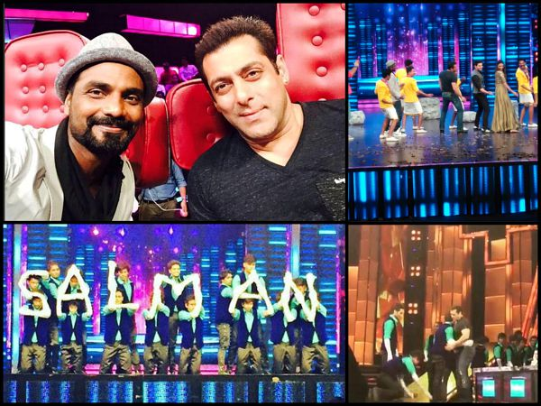 Salman Khan On Dance Plus