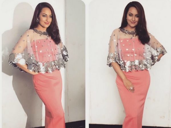 Sonakshi Sinha Thanks Indian Idol Junior For Great Memories On Her First Television Show!