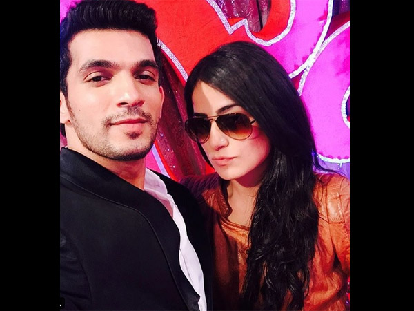 Arjun Bijlani With Radhika Madan