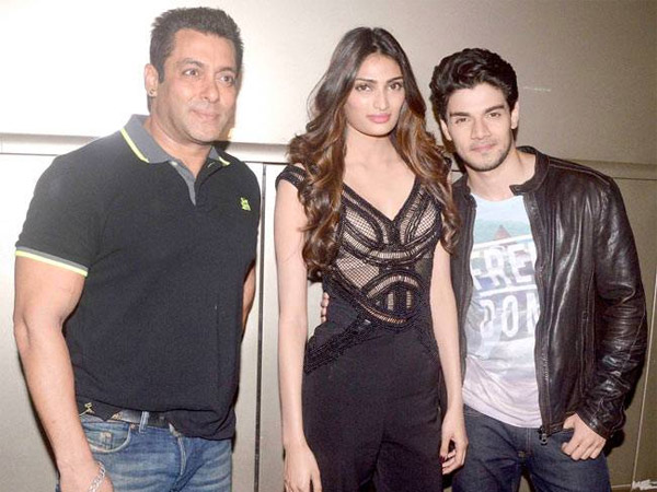 Salman With Athiya And Sooraj