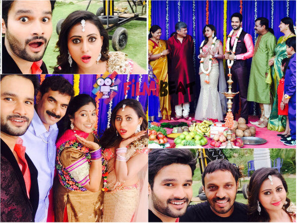 PICS: Amulya And Suraj Gowda Ties Knot For MMKY!