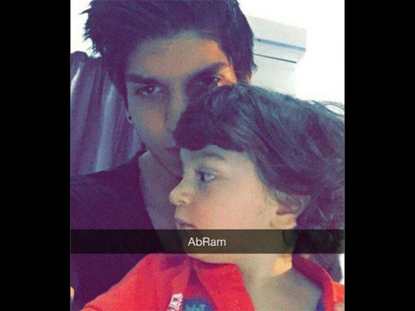 The First Selfie Of AbRam