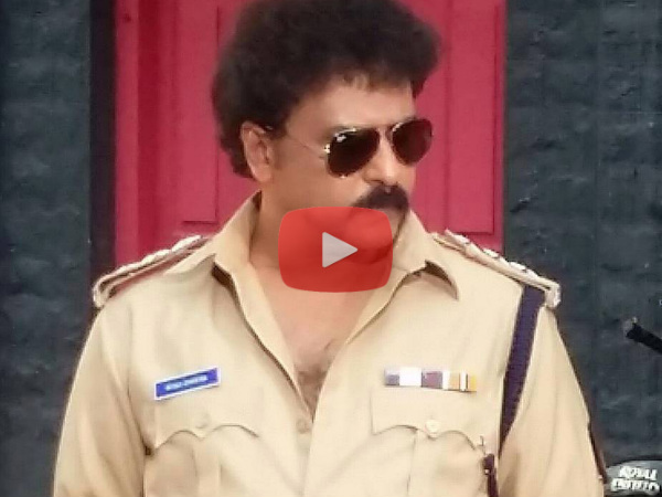 WATCH: Ravichandran's Makeover Of Police After 20 Years For 'Lakshmana'