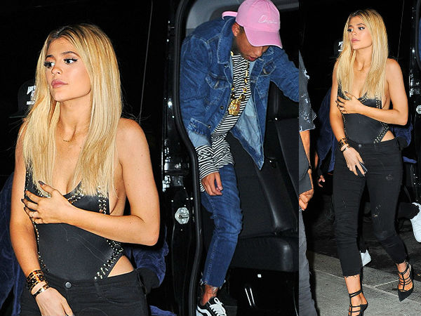 Kylie Jenner Escapes A Marilyn Monroe Moment In NYC