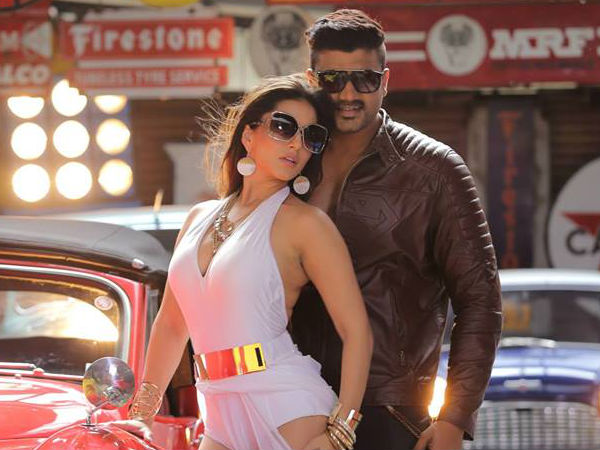Sizzling Sunny Leone And Srujan Lokesh